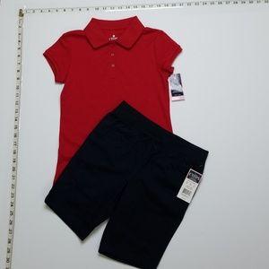 NWT Ralph Lauren Chaps Brand Girl School Uniform